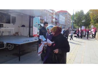 Bayburt'ta Meme Kanseri Bilinçlendirme Standı Açıldı