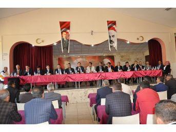 Mutki'de Kış Mevsimi Öncesi Toplantı