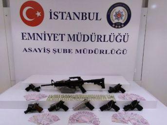 Çalınan Ruhsatsız Silahın Peşinden Giden Polis, Hırsızlık Şebekesini Çökertti