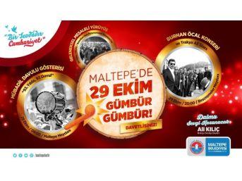 Maltepe'de Cumhuriyet Bayramı 93 Davullu Yürüyüş İle Kutlanacak