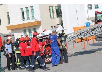Karaman Devlet Hastanesi'nde Afet Ve Olağan Dışı Durumlara Karşı Tatbikat Yapıldı