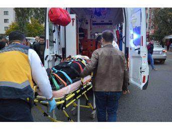 Kırklareli'de Tır'ın Çarptığı Kadın Yaralandı
