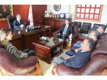 Chp'den Malatya Baro Başkanına Ziyaret
