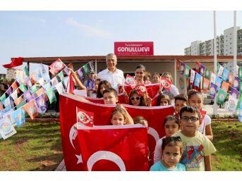 Mezitli Belediyesi Tece Gönüllü Evi Açıldı