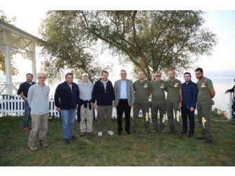 Balık Tutma Yarışması Sapanca Gölü'nde Başladı