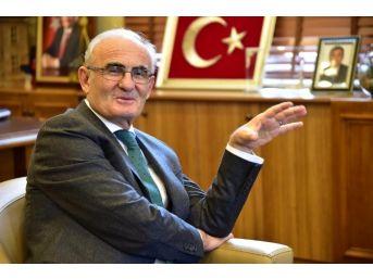 """Başkan Yılmaz: """"samsun'a Birlikte Hizmet Edeceğiz"""