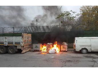 Çöpteki Yangını Vatandaşlar Söndürdü