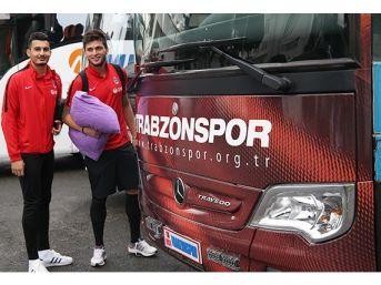 Trabzonspor Çorum'a Gitti