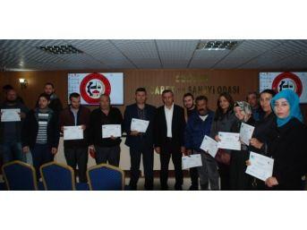 Sorgun'da 60 Kursiyer Girişimcilik Sertifikasını Aldı