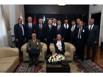 Gmis Yönetim Kurulu, Kılıçdaroğlu'nu Ziyaret Etti