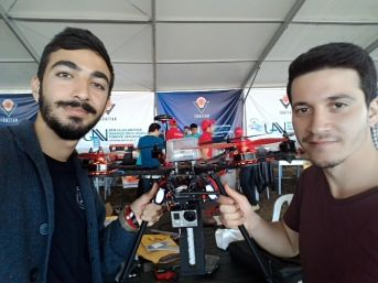 İnsansız Hava Aracı Yarışmasında Beü'yü Temsil Ettiler