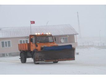Ardahan'da Yüksek Kesimlerde Kar Yağışı
