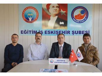Eğitim-iş Başkanı Bayraktar'dan 'ihraç' Açıklaması