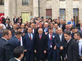 Cevdet Korkmaz Ve Mahalle Başkanları Ankara'da