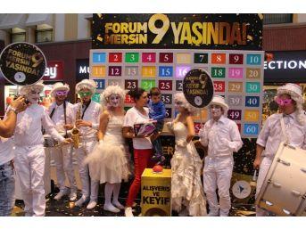 Forum Mersin 9. Yaşını Büyük Bir Coşkuyla Kutladı