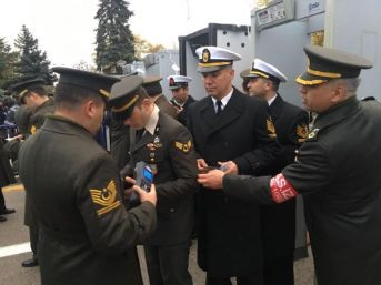 Anıtkabir' De Törene Gelen Askerlere Kimlik Kontrolü