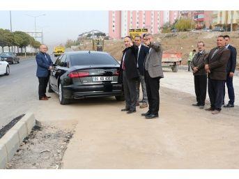 Başkan Saygılı Belediye Yatırımlarını İnceledi