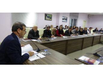Simav Belediye Meclisi Eynal'da Toplantı