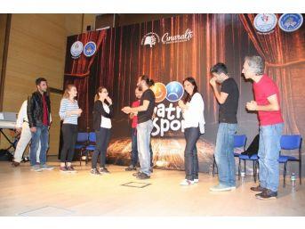 Yozgat'ta Kyk Öğrencileri 'tiyatro Sporu' İle Hem Oynadı Hem Eğlendi