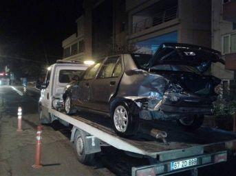 Park Halindeki Otomobilleri Hurdaya Çevirip Kayıplara Karıştı