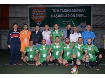 Belediye Birimleri Arası Futbol Turnuvası Başladı