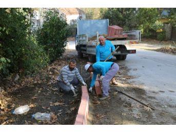 Mahmudiye Mahallesi Bordür Çalışmalarıyla Güzelleşiyor