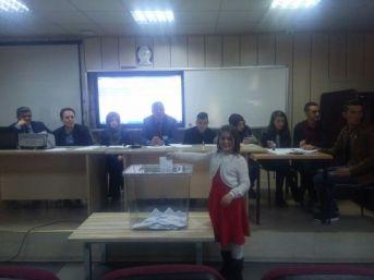 Yozgat'ta 'il Öğrenci Meclis Başkanlığı Seçimi' Yapıldı
