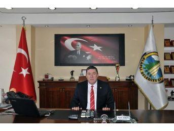 Alaplı Belediye Başkanı Nuri Tekin, Erdemir İşçilerine Destek Verdi