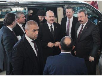 Bakan Soylu, Saldırıda Yaralananları Ziyaret Etti