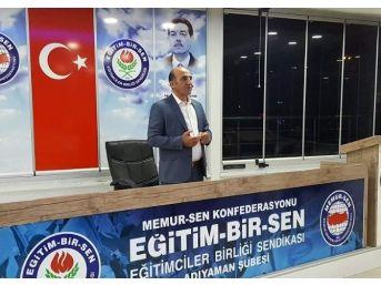 Eğitim Bir-sen Adana'da Yaşanan Terör Saldırısını Kınadı