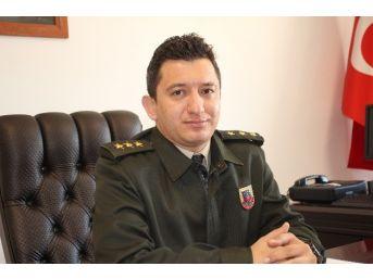 Manavgat İlçe Jandarma Komutanı Göreve Başladı