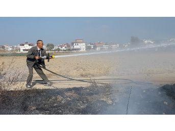 Orman İşletme Memurundan Yangına Kravatlı Gömlekli Müdahale