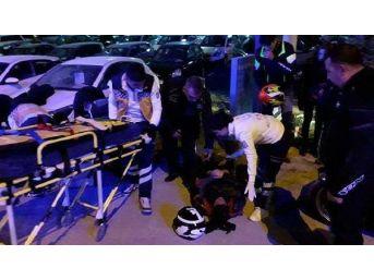 Motosikletlilerin Turunda Üzen Kaza: 2 Yaralı