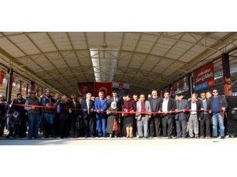 Turan Kapalı Pazaryeri Törenle Hizmete Açıldı