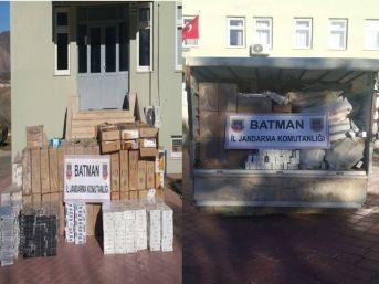 Batman'da 74 Bin 617 Paket Kaçak Sigara Ele Geçirildi