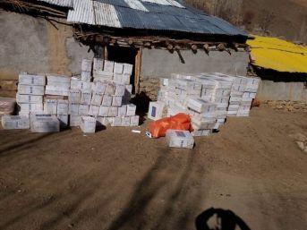 Hakkari'de 5 Milyon Paket Sigara Ele Geçirildi