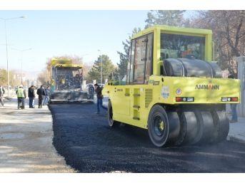 Altyapısı Biten Bölgelerde Belediye Asfaltlama Çalışmasına Başladı