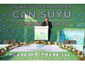 """Bakan Eroğlu: """"etrafımız Ateş Çemberi Türkiye'de Huzur Var"""""""