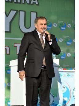 Bakan Eroğlu Kırşehir'de Temel Atıp, Tesis Açtı