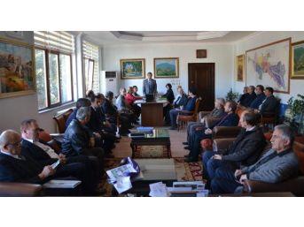 Başkan Süleyman Özkan'dan Emekliye Ayrılan 11 Personele Teşekkür Belgesi