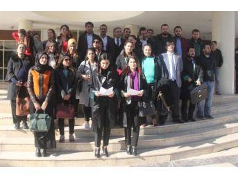 Şanlıurfa'Da, Kadın Avukatlardan Şiddet Protestosu