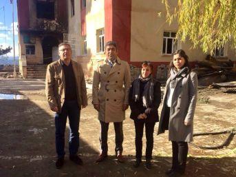 Adana Tabip Odası Ve Adana Barosu Heyeti Aladağ'da İncelemelerde Bulundu