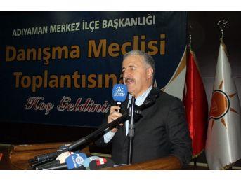 """Bakan Arslan: """"darbe Anayasasının Bizim Üzerimize Biçtiği Gömlek Büyüyen Türkiye'ye, Güçlenen Türkiye'ye Dar Geliyor"""""""