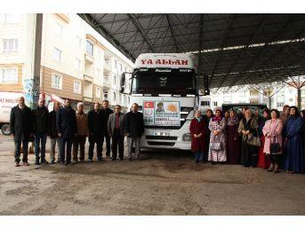 Aksaray'dan Halep'e Yardım Tır'ı Gönderildi