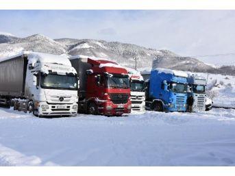Posof'ta Kar Yolları Kapattı