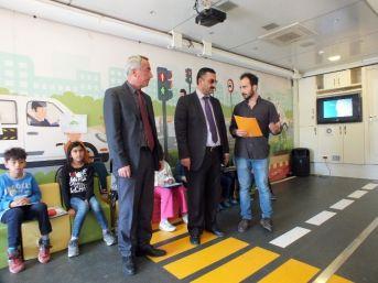 Didim'de Öğrencilere Trafik Eğitimi