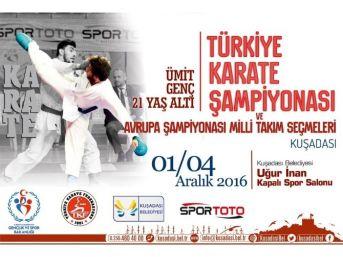 Türkiye Karate Şampiyonası Kuşadası'nda Yapılacak