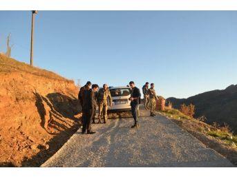 Kaymakam Dundar, Pahan Tepe Yolunu İnceledi