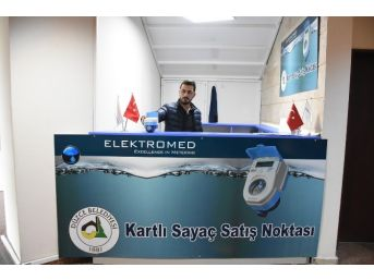 Düzce'de Elektronik Kartlı Su Sayacı Teşvik Ediliyor