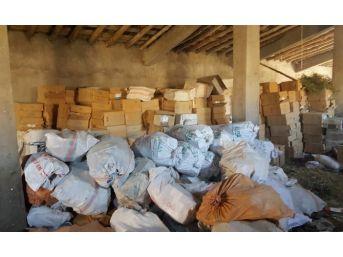 Hakkari'de 1 Milyon Paket Kaçak Sigara Ele Geçirildi
